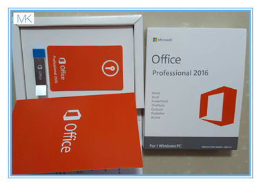 China Software de Microsoft Windows/más de Microsoft Office 2016 favorable por 1 vez de la vida de Windows/PC proveedor