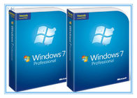China Software al por menor completo del DVD de la versión de 64 pedazos de Windows 7 del software de Microsoft Windows favorable con la activación 100% del COA fábrica